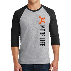 Orange Theory MORE LIFE Baseball 3/4 sleeve tee